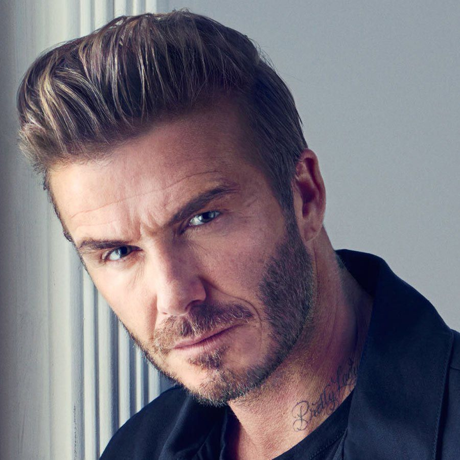 Super Star David Beckhams 2018 New Look Frisur Neue Frisuren