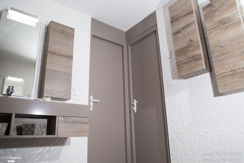 une salle de bains l 39 ambiance zen annie mazuy c t maison tout pour la maison pinterest. Black Bedroom Furniture Sets. Home Design Ideas