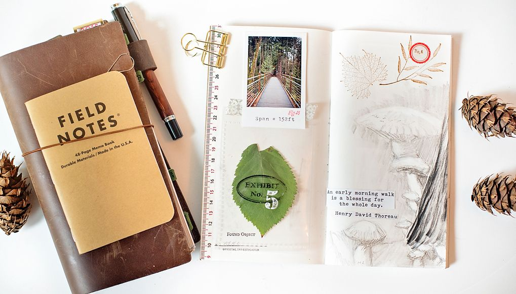 Big Picture Classes | Traveler's Notebook Basics: 10 Ways to Use Your Notebook