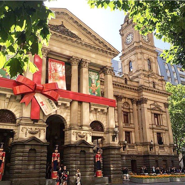 It's beginning to look a lot like Christmas in Melbourne