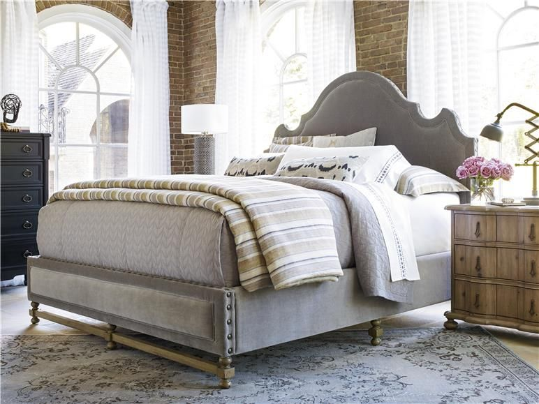 Authenticity Khaki Universal Furniture Furniture Upholstered Beds