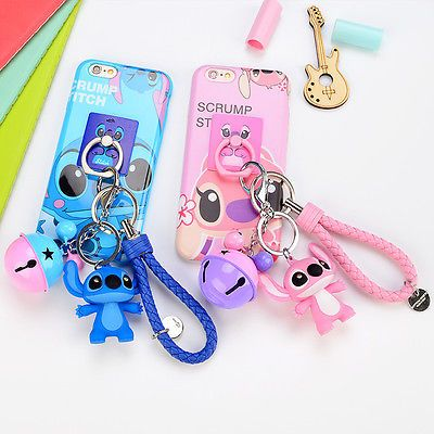 size 40 3acbf 5bf14 Details about For iPhone 6 6s Plus Cute Stand Holder Charm Strap ...