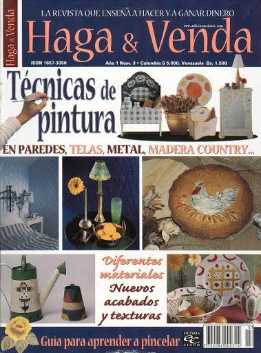 Haga y Venda Tecnicas de Pintura Año1 N°3 - Geraldinapintura - Álbuns da web do Picasa