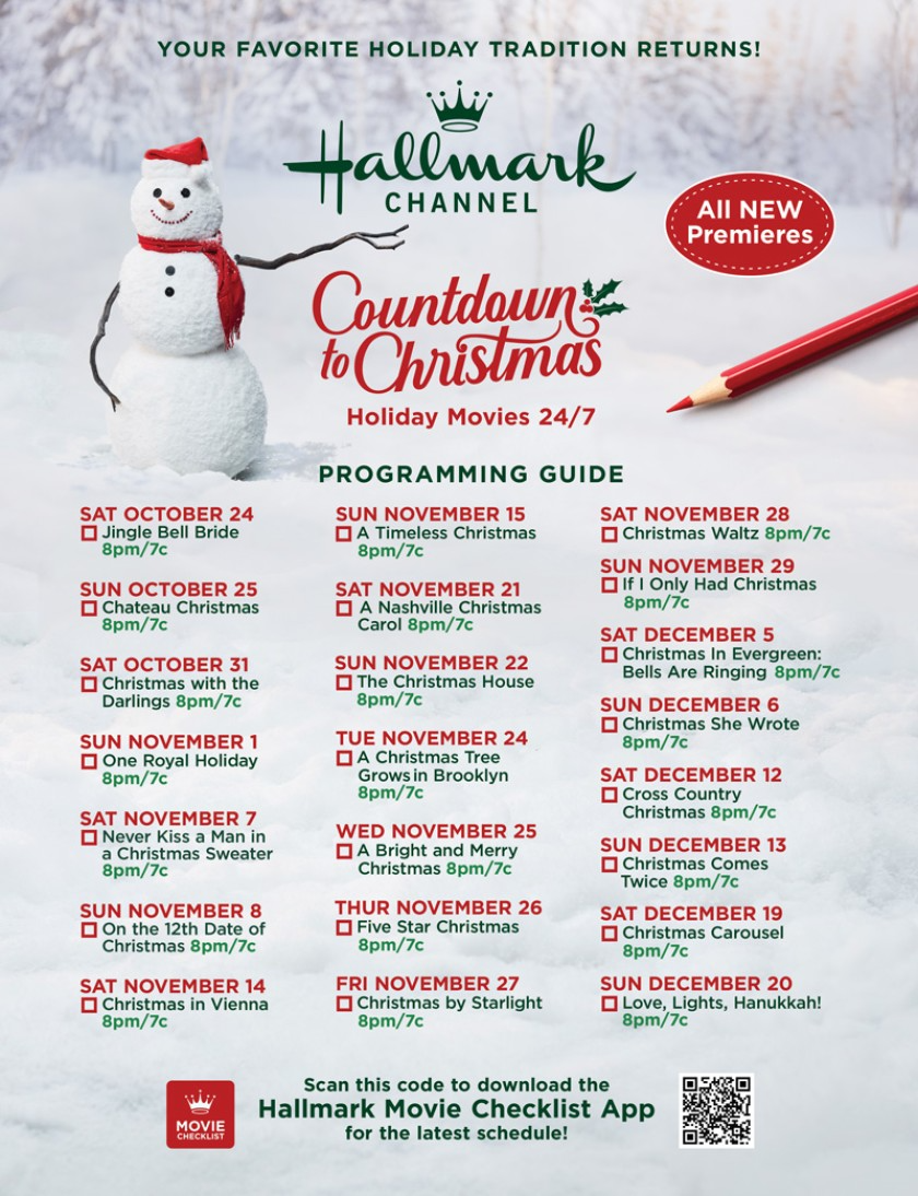 Movie Guide Countdown To Christmas 2020 In 2020 Christmas Countdown Christmas Movies Hallmark Christmas Movies