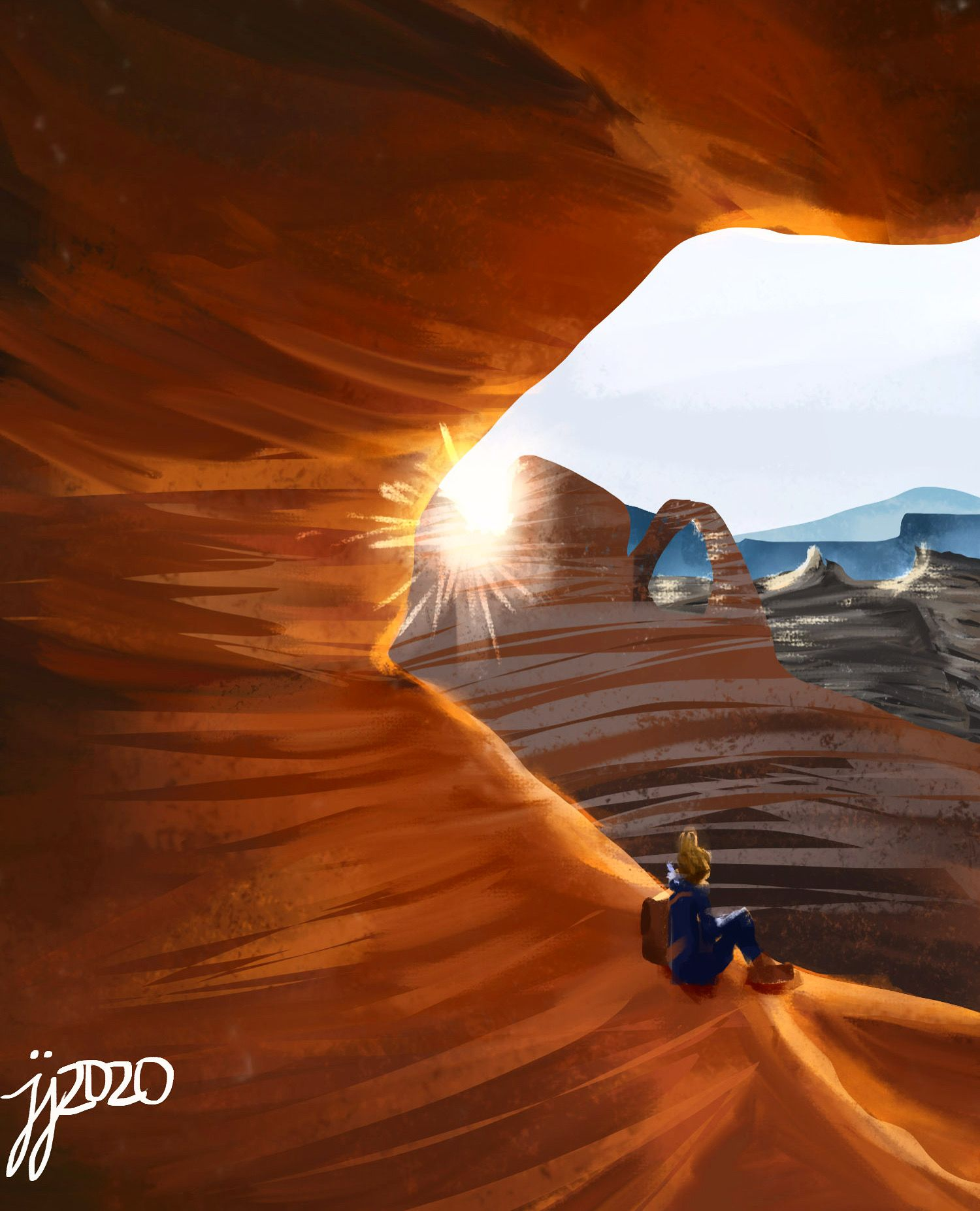 100 Day Study(37)Arches National Park in 2020 National