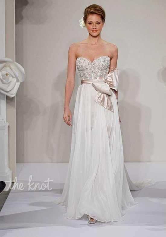 Pnina Tornai For Kleinfeld 4212 A Line Wedding Dress