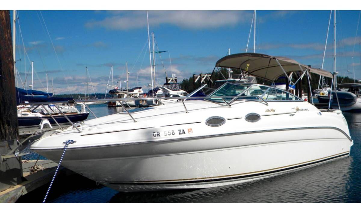 99 Sea Ray Sundancer 260 6 2 320hp, B3 SeaCore | Boats | Boat, Sea