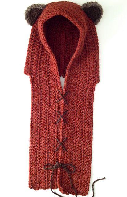 Ravelry Ewok Scoodie Free Pattern Crochet Pinterest Croch