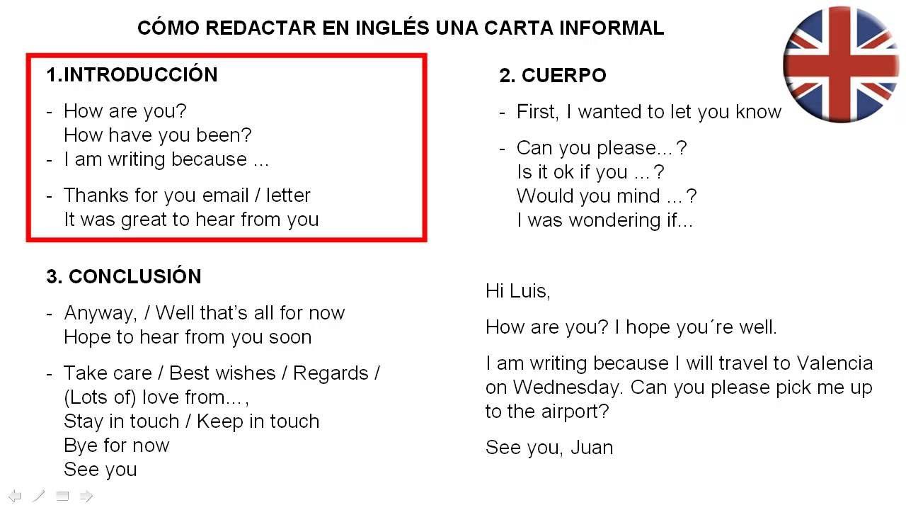 Una Carta En Inglés Como Redactar Una Carta Informal En Inglés Lettering Greatful Writing