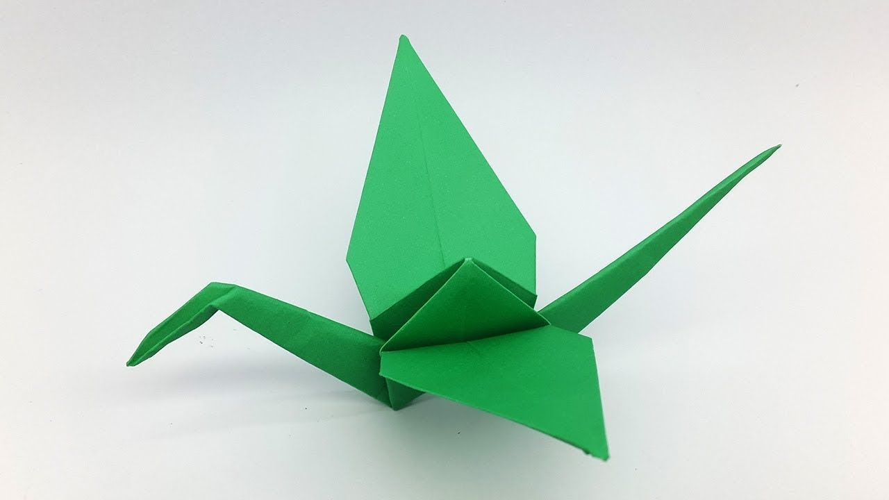 How to make a paper crane origami crane folding instructions how to make a paper crane origami crane folding instructions jeuxipadfo Choice Image