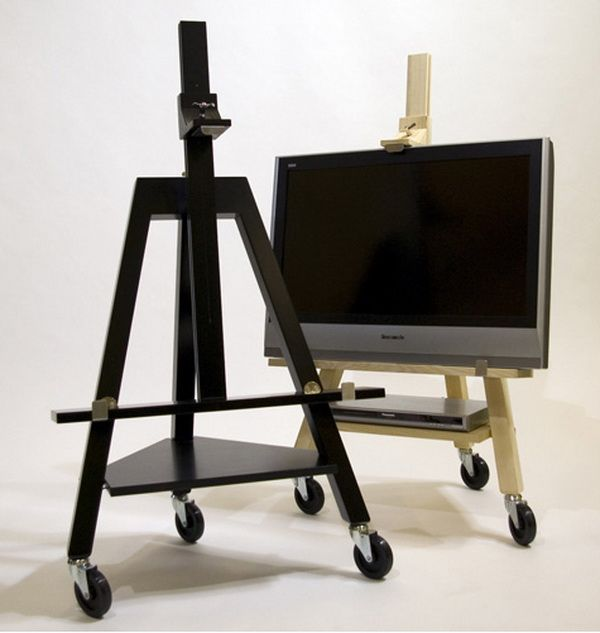 Best Pallet Projects Easel Tv Stand Tv Set Design Portable Tv