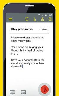 Nuance announces Dragon Anywhere cloud-based voice dictation app for
