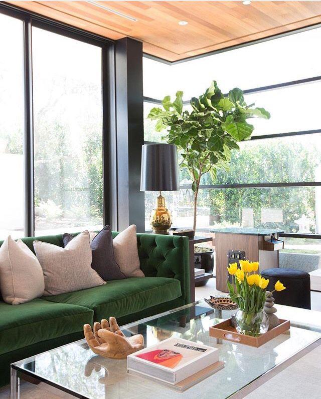 pinkatharine bussells on casa  decoração  green