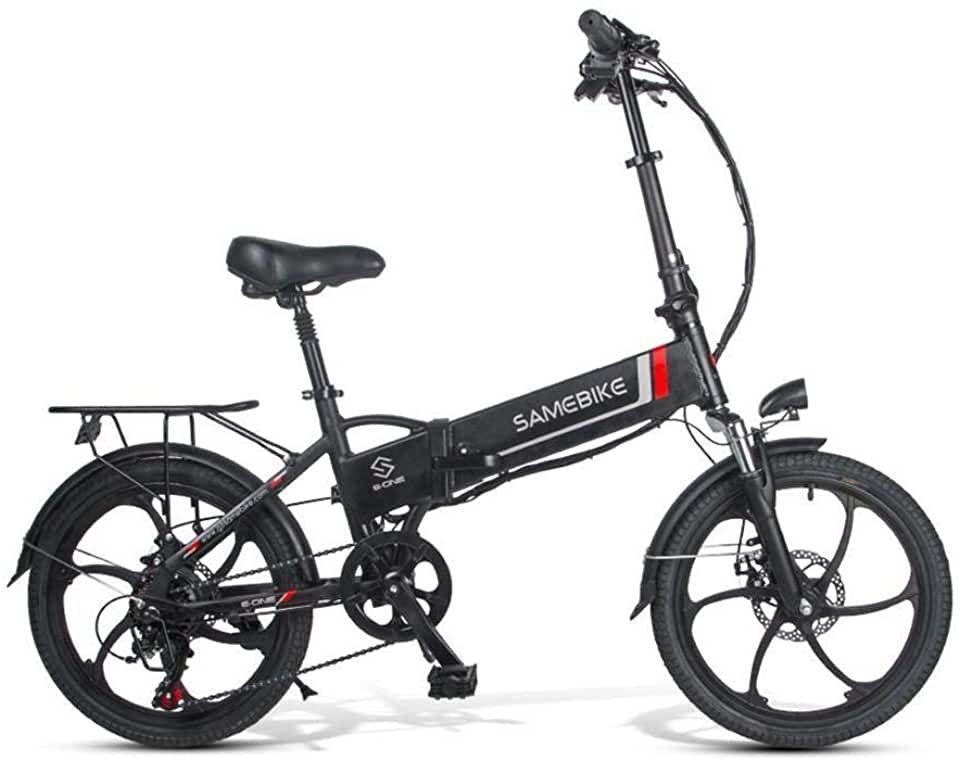 Adolenb E Bike Klapprad 20 Zoll Elektrofahrrad Klappfahrrad 48v 8ah Lithium Batterie Leicht In 2020 Elektrofahrrad Klappfahrrad Klapprad