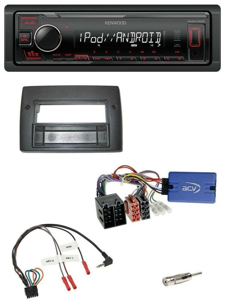 Pioneer USB MP3 CD Lenkrad Bluetooth Autoradio für Renault Grand Scenic ab 2009