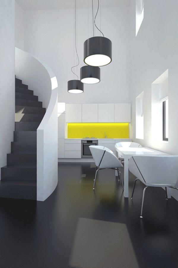 Ein Hauch Von Gelber Farbe In Der Küche Dekor | #KücheDekorationBlog |  Dekorations Ideen