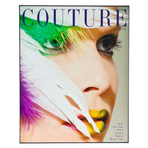 It\'s a cover from Couture magazine in 1965 found in Z Gallerie ...