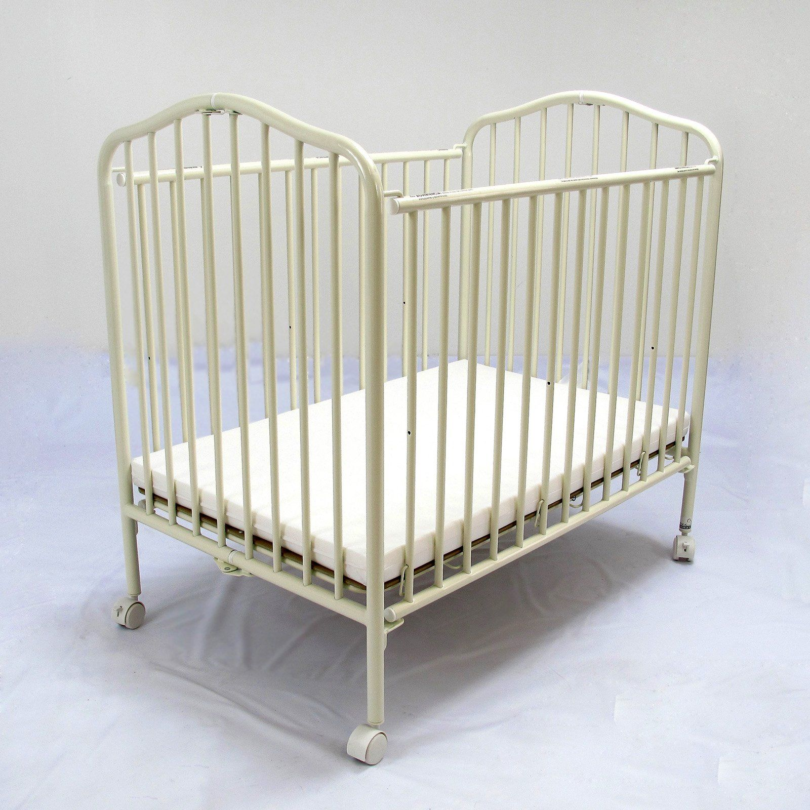 compact nursery furniture. LA Baby Compact Metal Folding Crib - Vanilla $178.99 (compare The Size With Other Nursery Furniture