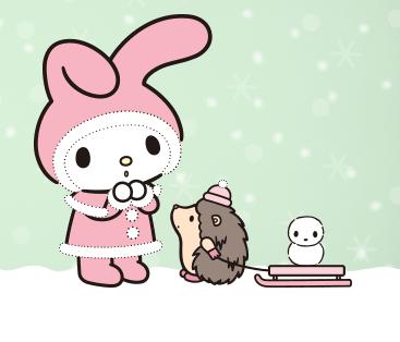 My melody christmas mimi et chou pinterest sanrio kawaii and hello kitty - Hello kitty et mimi ...