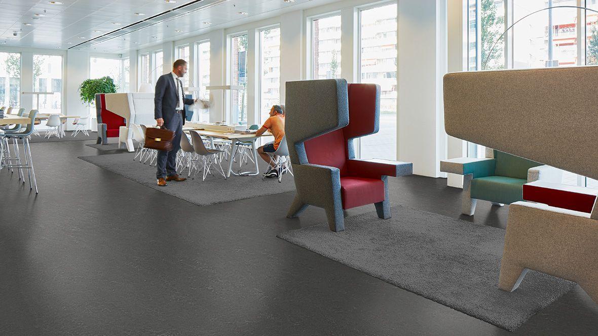 Marmoleum Concrete linoleum vloeren Forbo Flooring