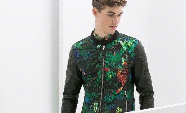 tropical estate 2014 collezione zara giacca uomo primavera YtCgq