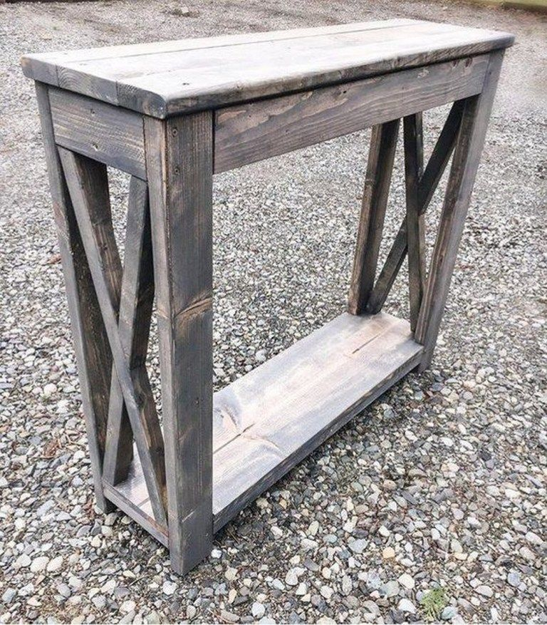 37 farmhouse style diy console table plans in 2020