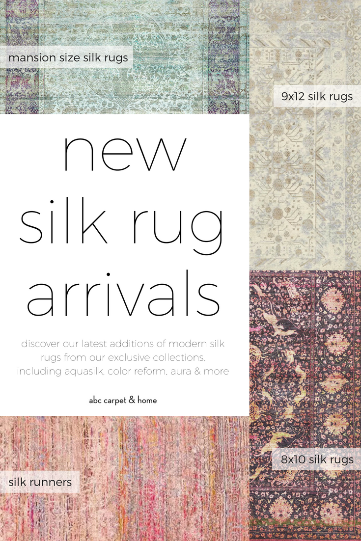 New Silk Rug Arrivals From Mansion