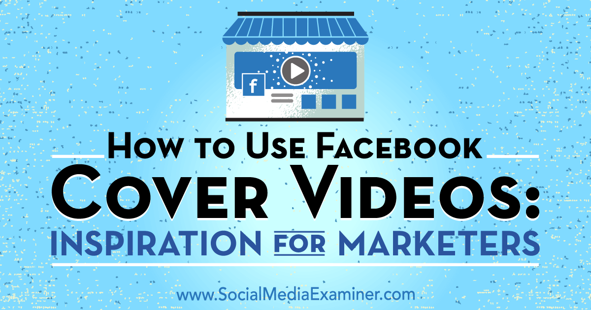 How to Use Facebook Cover Videos: Inspiration for Marketers : Social Media Examiner https://www.socialmediaexaminer.com/facebook-cover-videos-how-to-use/?utm_source=Newsletter&utm_medium=NewsletterIssue&utm_campaign=New&omhide=true  Do you use Video? Need Help?  #facebook  #videos  #FacebookVideoCover  #FacebookCovers  #tammysoffices
