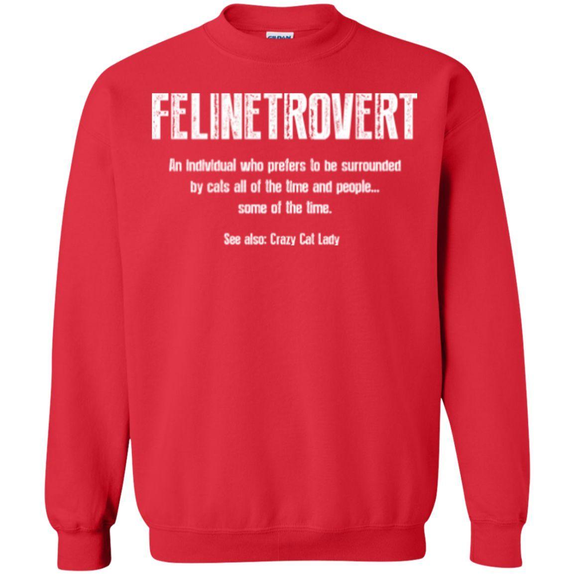 Felinetrovert - Sweatshirt