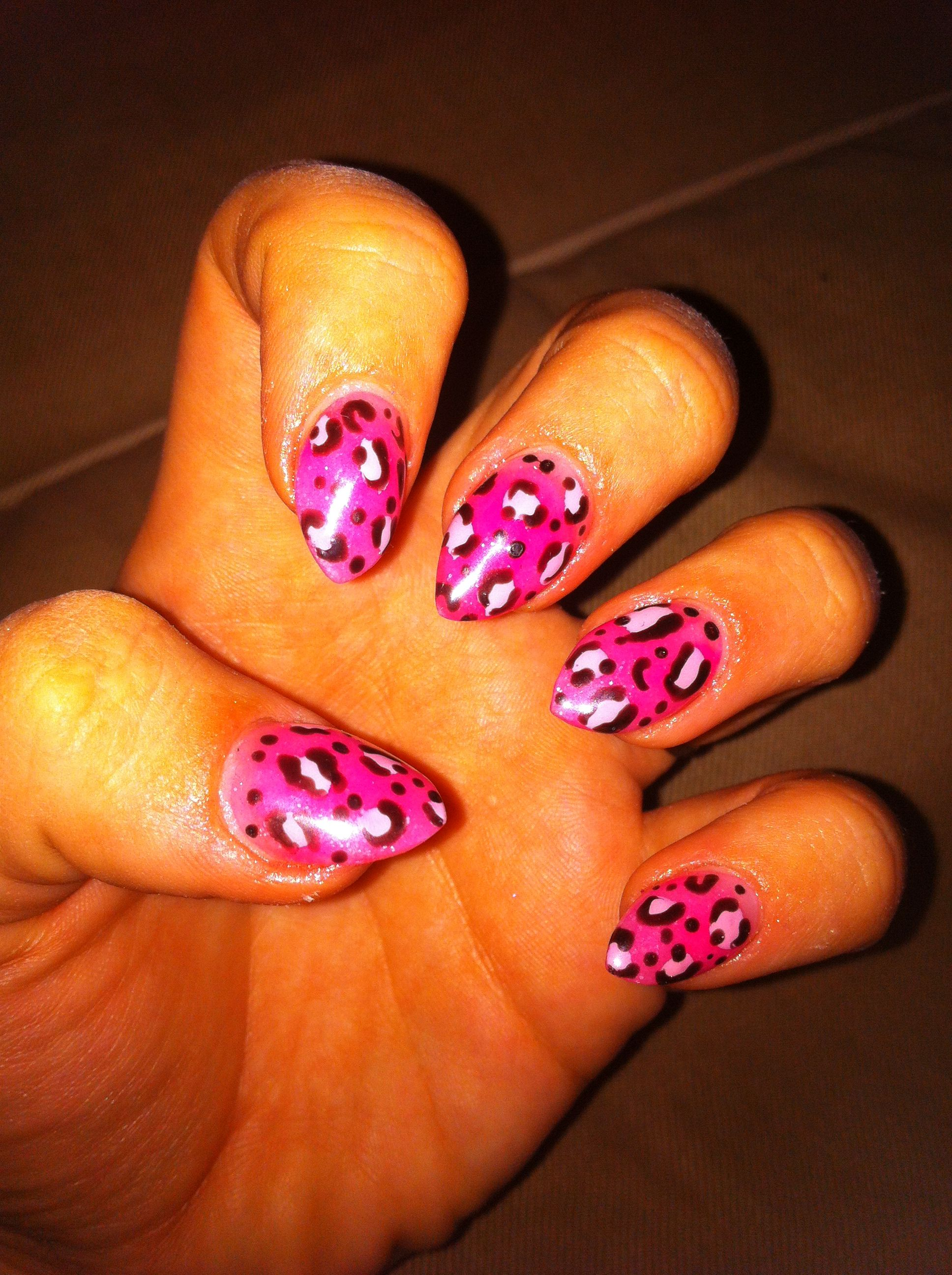 50 Stylish Leopard And Cheetah Nail Designs For Creative Juice Cheetah Nail Designs Leopard Nails Nails
