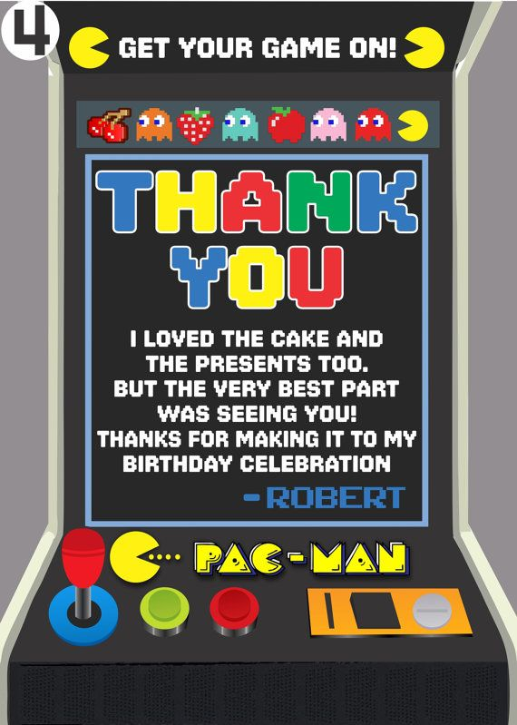 Pac man birthday invitation digital copy by sergiodesignsshop sean pac man birthday invitation digital copy by sergiodesignsshop filmwisefo