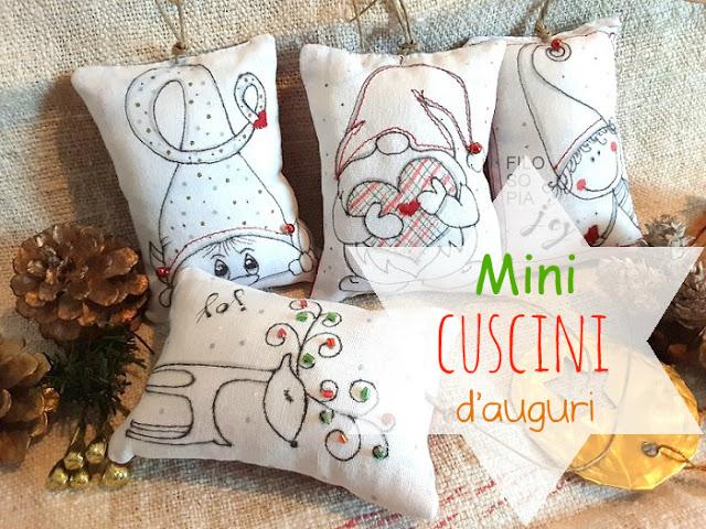 Mini Cuscini.Filo So Pia Mini Cuscini Decorati A Mano Nel 2020 Cuscini