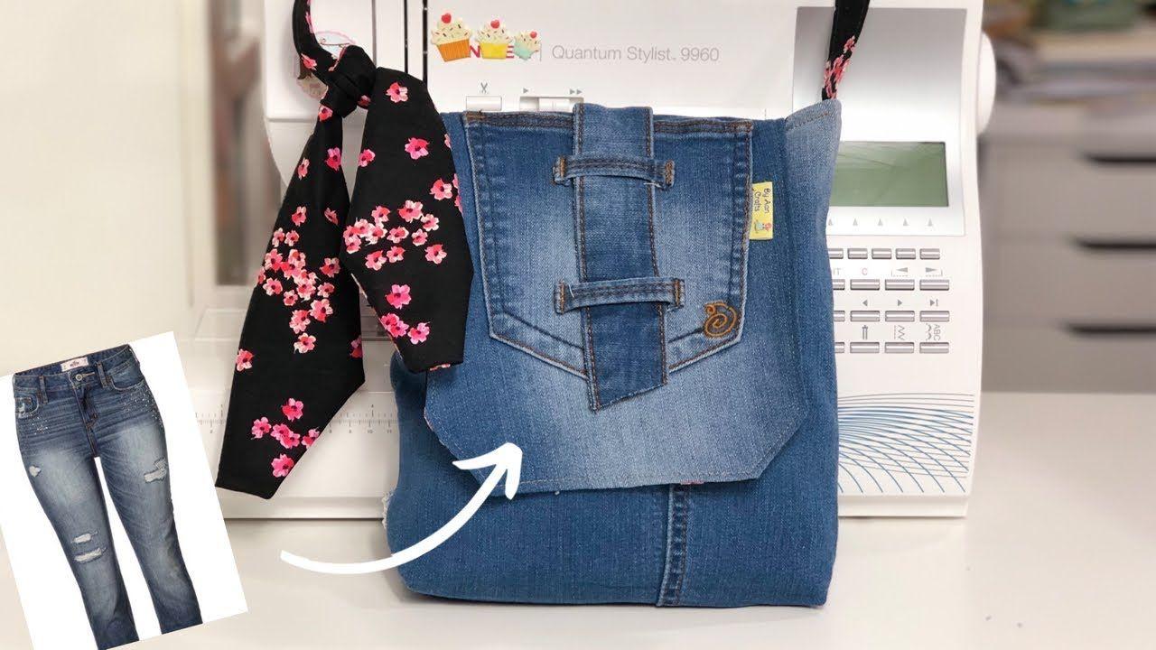 Bolsa de Calça Jeans Velha: Como Fazer   Bolsas jeans