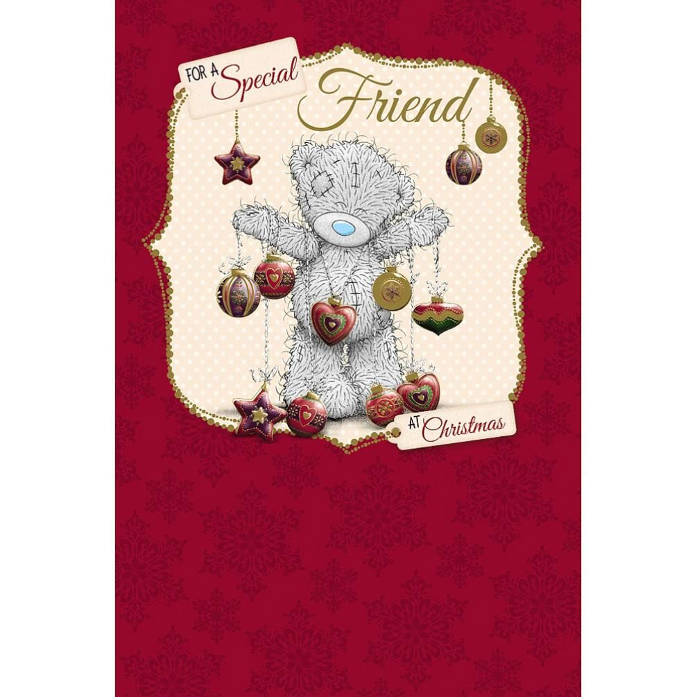 Special friend me to you bear christmas card 249 tatty teddy special friend me to you bear christmas card 249 kristyandbryce Gallery