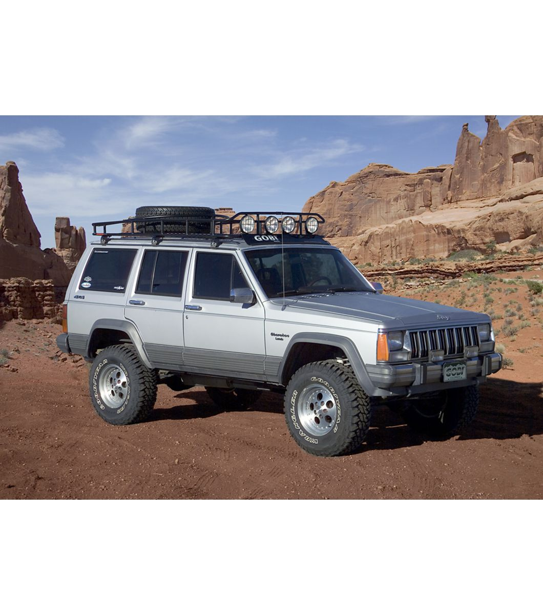 Jeep Cherokee Xj Ranger W Tire Rack Multi Light Setup Font