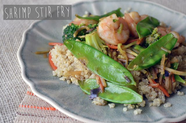 Shrimp Stir Fry + BUTI - Fit Foodie Finds