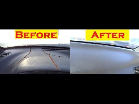 How To Recover A Dashboard - Vinyl, Leather - YouTube