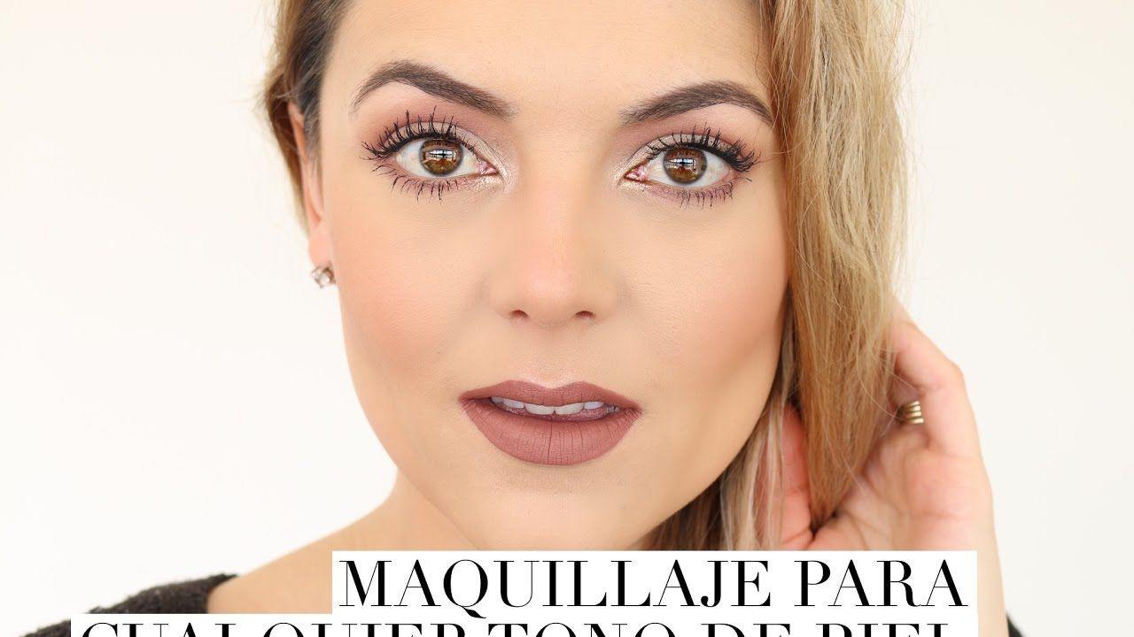 maquillaje para tono de piel neutro
