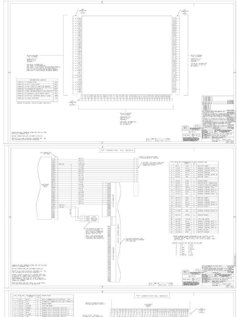 Unique Allison Md3060 Wiring Diagram In 2020 Trailer Wiring Diagram Diagram Transmission