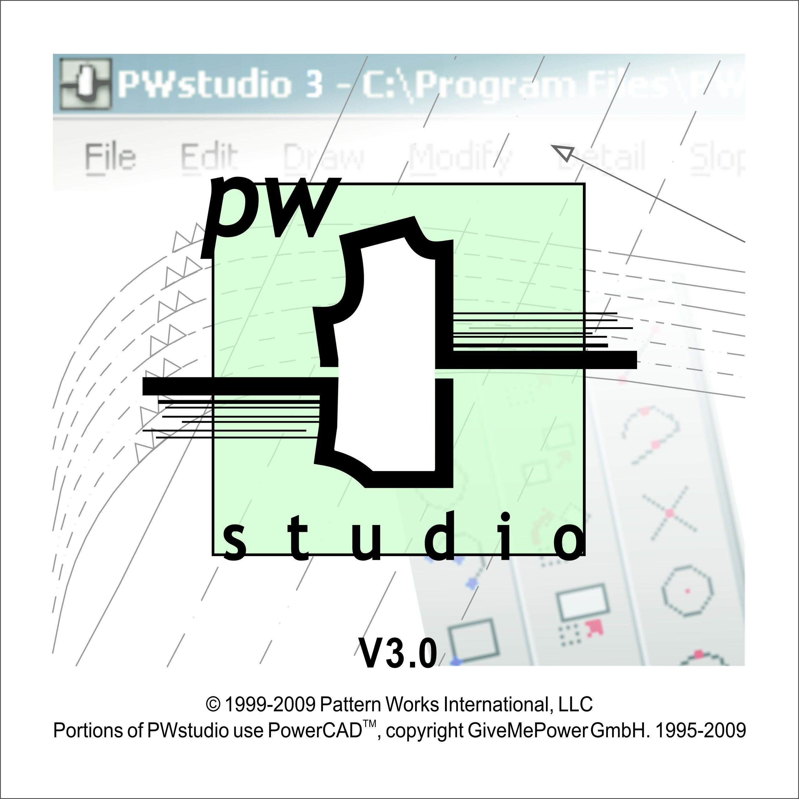 PWSTUDIO 3 SOFTWARE TRIAL DISK from the Center for Pattern Design ...