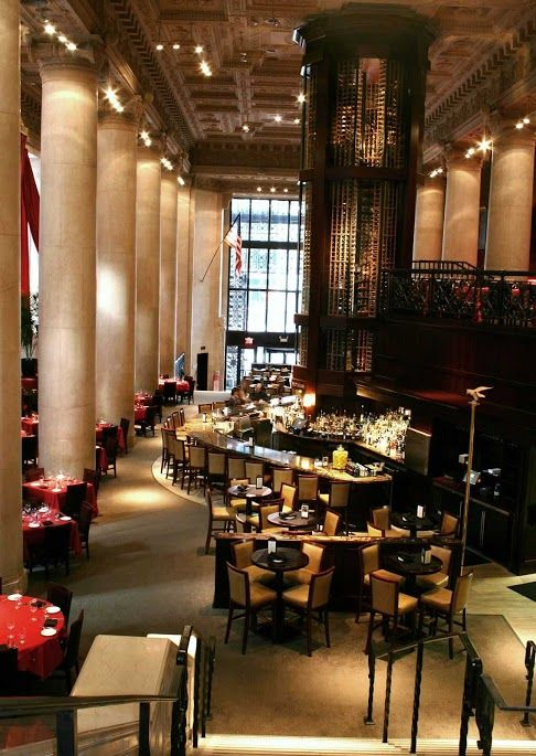 Del Frisco S Is A Dramatic Restaurant Covering Multiple Levels Of The First Pennsylvania Bank Building In Center City Philadelphia