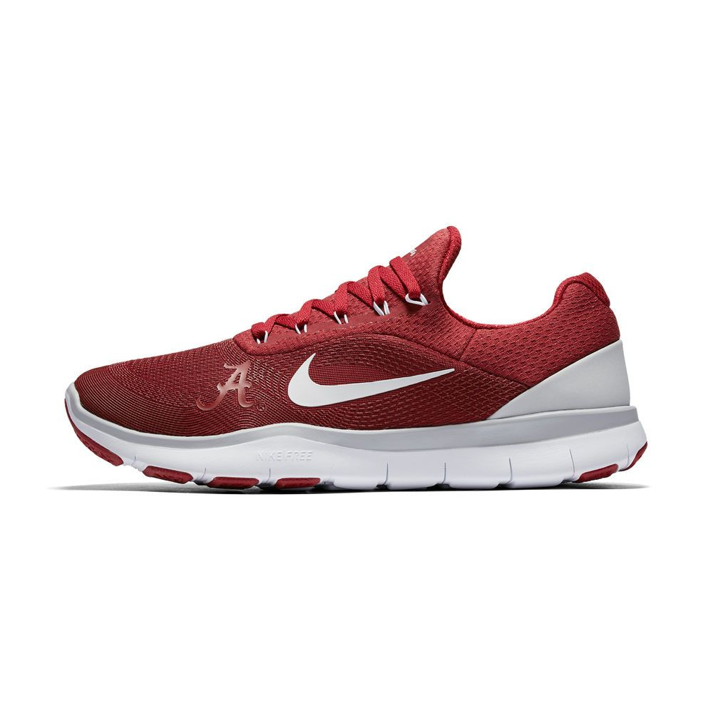 Men's Nike Crimson Alabama Crimson Tide Free Trainer v7 Spring Games  Collection Shoes