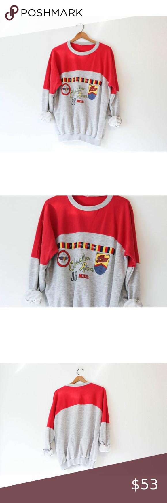 Vintage White Water Rafting School Sweatshirt Sweatshirts School Sweatshirts Vintage Shirts [ 1740 x 580 Pixel ]