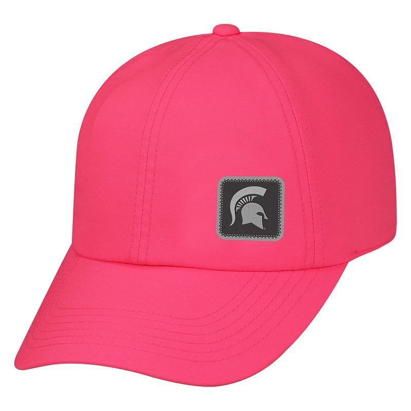 new concept e771b 4c634 Adult Top of the World Michigan State Spartans Duplex UV Pro Adjustable Cap,  Med Pink