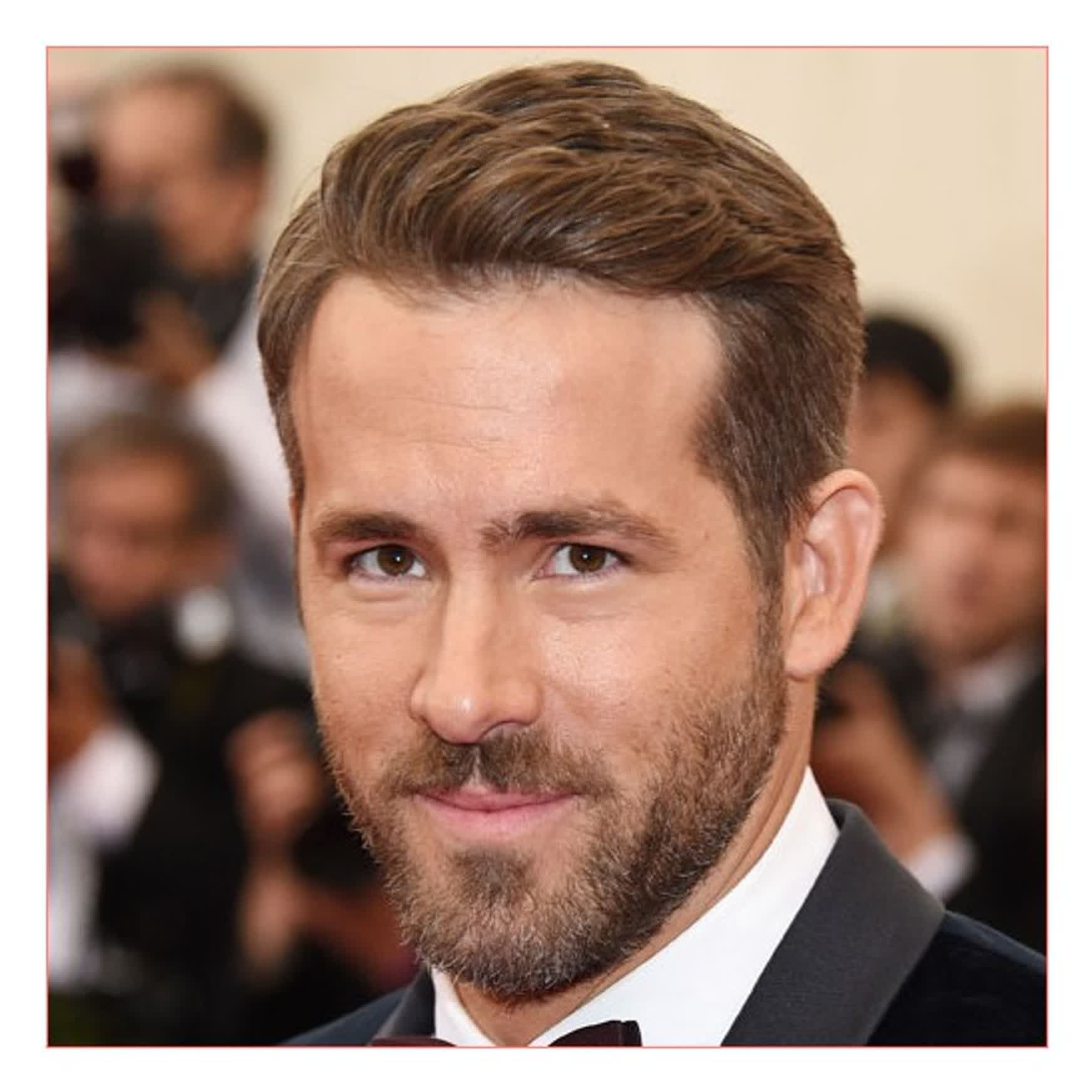 The Very Best Hairstyles For Heart Shaped Faces 2017 Men Https Besthairstylemen Com The Very Best Hairst Heart Face Shape Mens Hairstyles Ryan Reynolds Hair