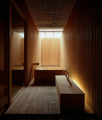 Onsen Hotel Kengo Kuma Con Imagenes Cuarto De Bano Japones