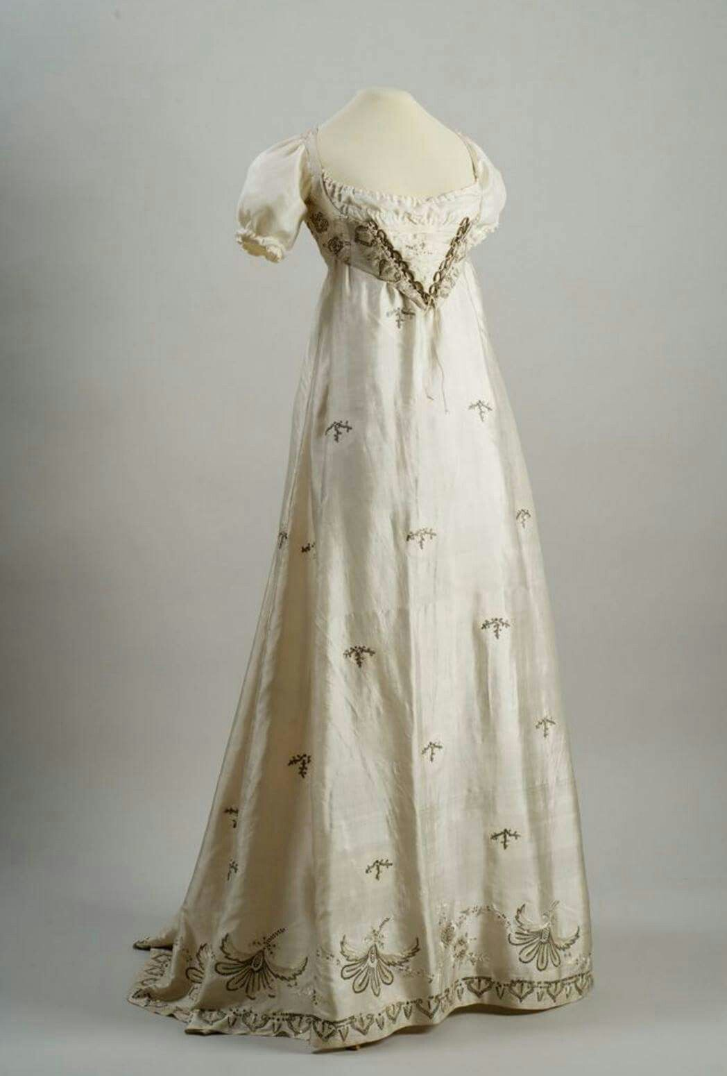empire waist vintage gown clothes from days by