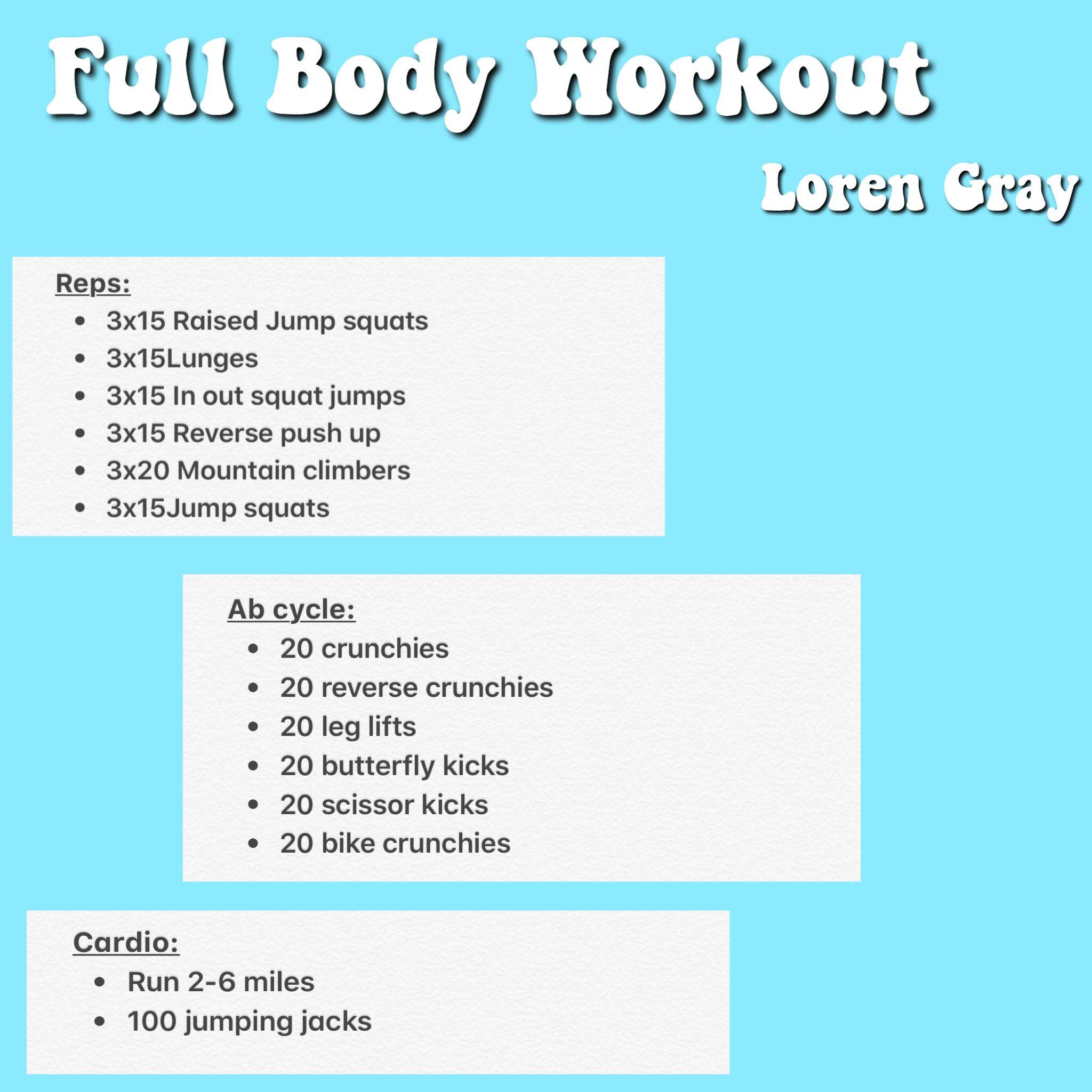loren gray diet plan