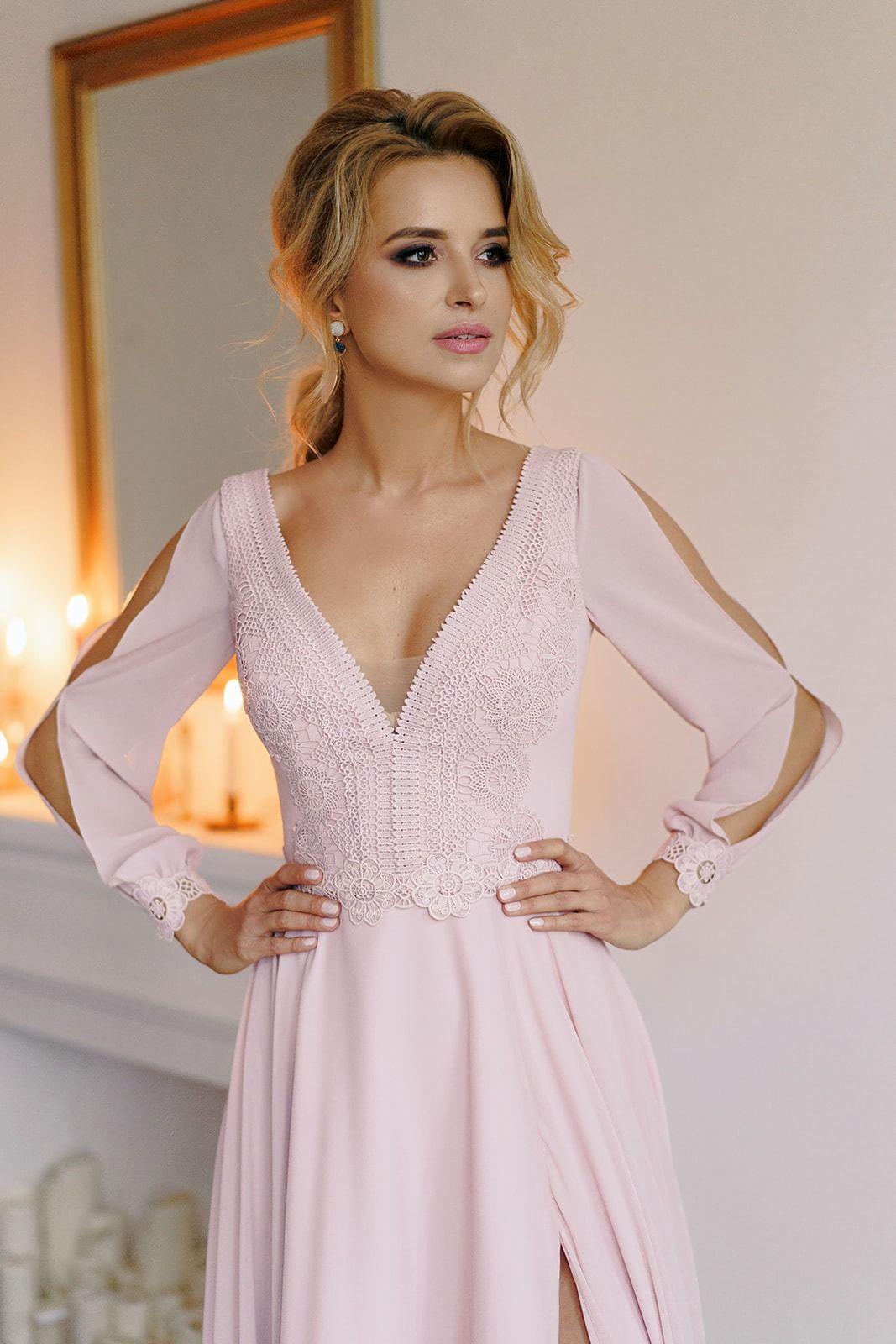 Sukienka Na Wesele Z Rekawami Calderia I Nowa Kolekcja Pracowni Sukni Dama Couture Z Warszawy Fashion Formal Dresses Dresses