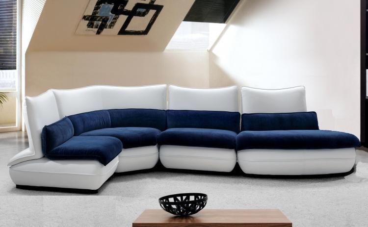 Blue And White Sofa Best Leather Sofa Blue Sofa Modern Sofa Sectional